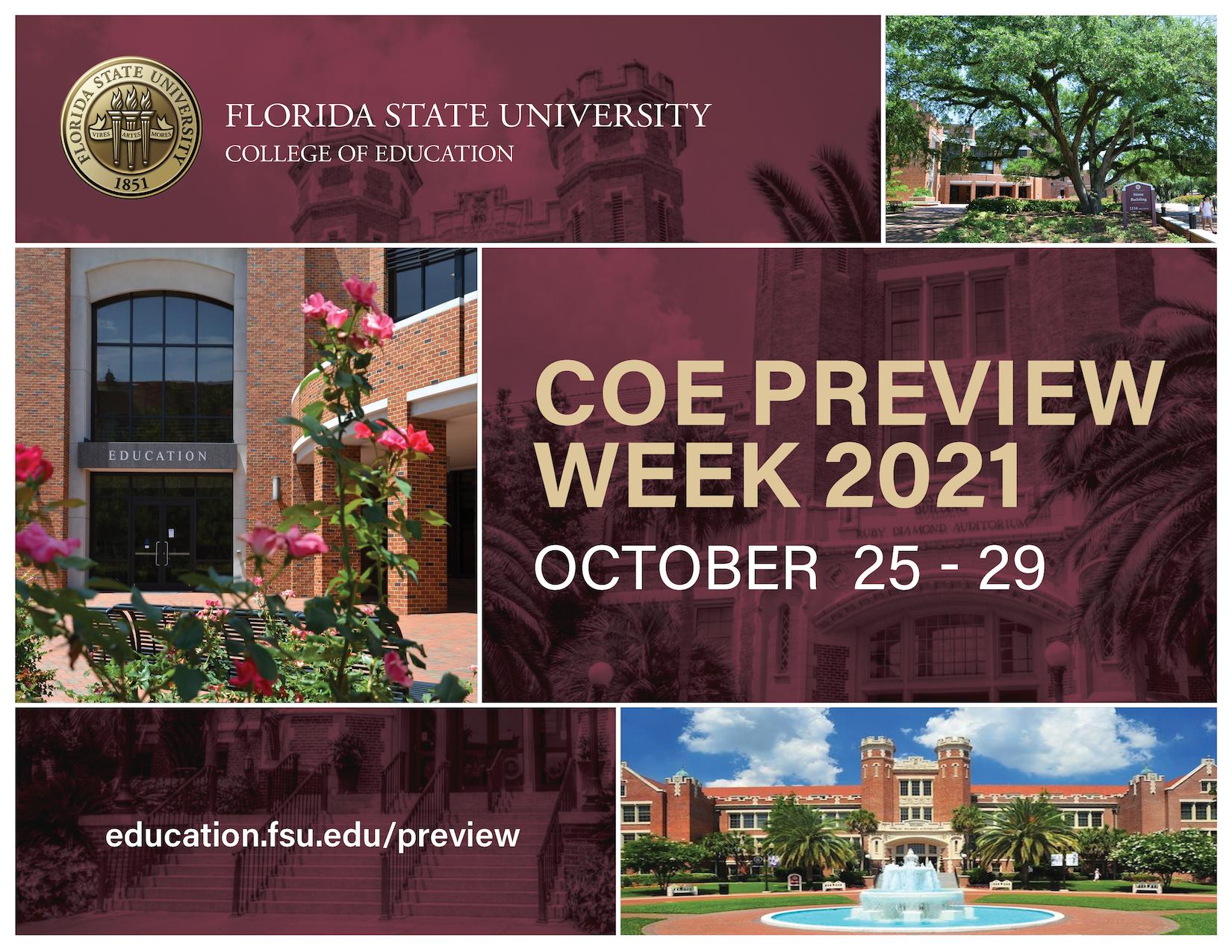 COE Preview Week
